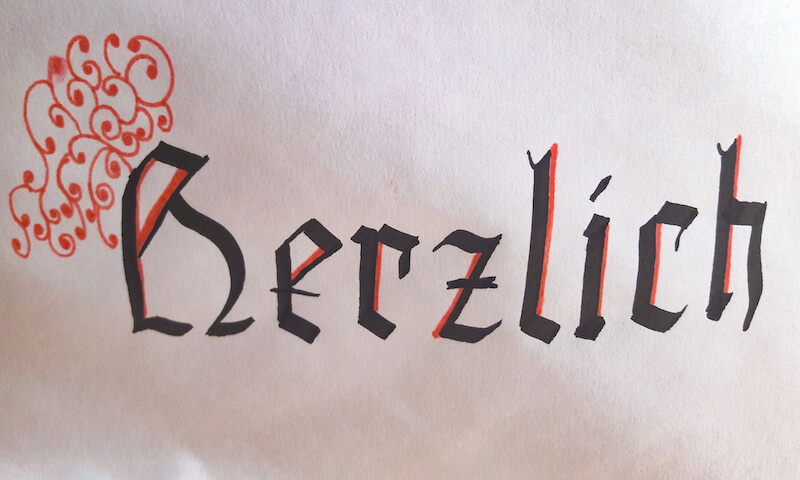 Kalligraphie Kurs Graz